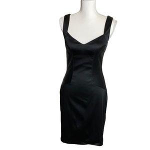 EUC Aidan Mattox Black Dress size 6